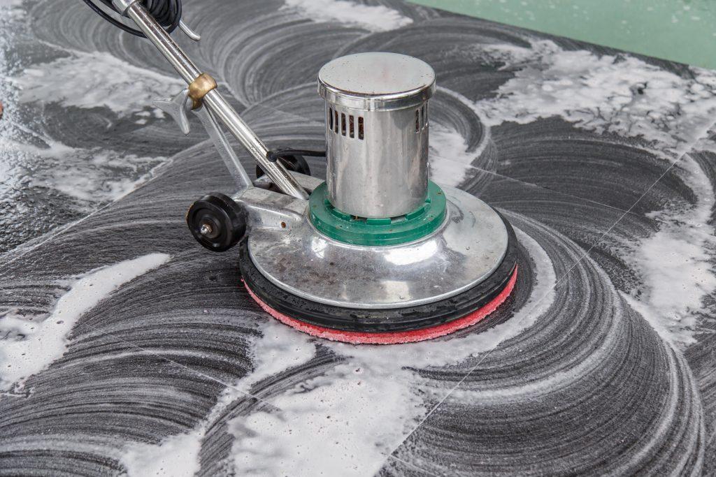 scrubbing-floor